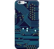 Dark Circuit Board iPhone Case/Skin