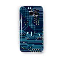 Dark Circuit Board Samsung Galaxy Case/Skin