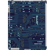 Dark Circuit Board iPad Case/Skin