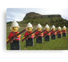 The Thin Red Line Canvas Print
