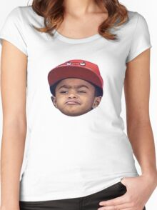 PJ Rose - Derrick Rose Women's Fitted Scoop T-Shirt