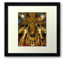 St Patrick's Cathedral - New York  Framed Print