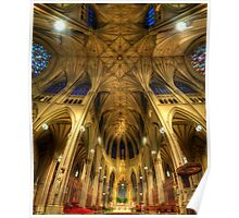 St Patrick's Cathedral - New York  Poster