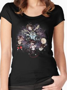 Chibi ONE OK ROCK Women's Fitted Scoop T-Shirt