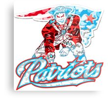 PATRIOT WHITE Metal Print