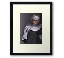 Scanner Gram Nun. Framed Print