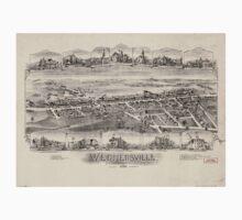 Panoramic Maps Wernersville Pennsylvania Kids Tee