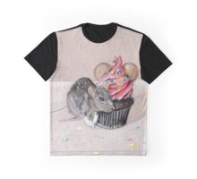 Mickey and Minnie Graphic T-Shirt