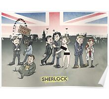 Sherlock group tensions Poster