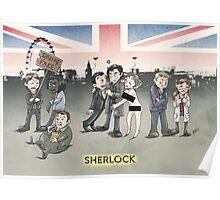Sherlock group tensions Poster