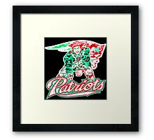 PATRIOT BLACK Framed Print