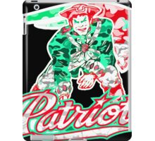 PATRIOT BLACK iPad Case/Skin