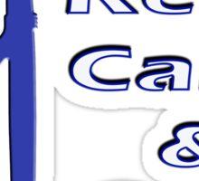 Keep Calm & Surf On Sticker