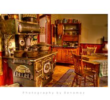Country Kitchen by Photography by Benamoz Ltd.