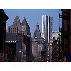 New York Cityscape by Photography by Benamoz Ltd.