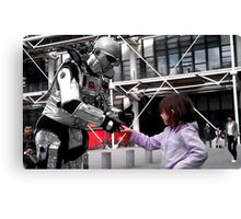 YouRobot Canvas Print