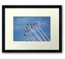 THE REDS Framed Print