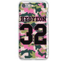 Girls' Generation (SNSD) HYOYEON 'PINK ARMY' iPhone Case/Skin