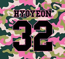 Girls' Generation (SNSD) HYOYEON 'PINK ARMY' by ikpopstore