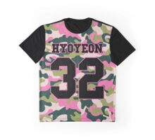 Girls' Generation (SNSD) HYOYEON 'PINK ARMY' Graphic T-Shirt