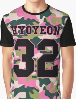 Girls' Generation (SNSD) HYOYEON 'PINK ARMY' Graphic T-Shirt