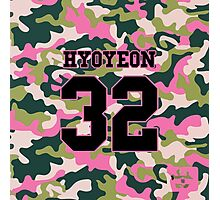 Girls' Generation (SNSD) HYOYEON 'PINK ARMY' Photographic Print