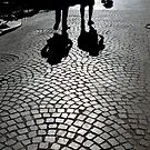 Walk on cobblestones by Christophe Claudel