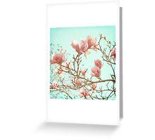 Japanese Magnolias Greeting Card