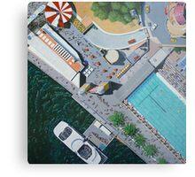 Luna Park by Stephanie Burns Metal Print