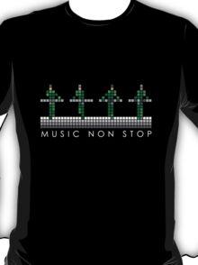 PIXEL8 | Music Non Stop | Kraftwerk Green T-Shirt