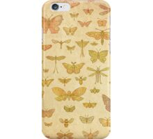 100 Flying Bugs (colour) iPhone Case/Skin