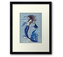 Queen of the sea Framed Print