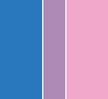 Bisexual Pride Flag by ShowYourPRIDE