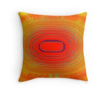 Radiation Throw Pillow