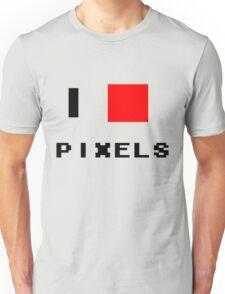 I Love Pixels Unisex T-Shirt