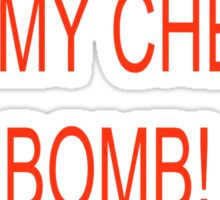 Lick my cherry bomb Sticker