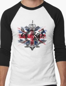50th Anniversary Secret Agent Tee_Union Jack Men's Baseball ¾ T-Shirt