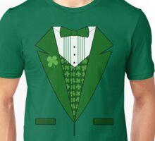Irish Green Tuxedo T-Shirt Unisex T-Shirt