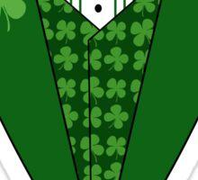 Irish Green Tuxedo T-Shirt Sticker