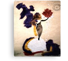 She and..... Canvas Print