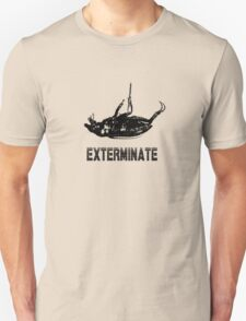 Exterminate T-shirt/Hoodie black T-Shirt