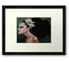 Poison Fairy Framed Print