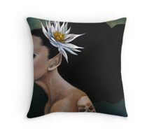 Poison Fairy Throw Pillow