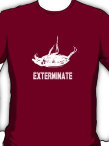 Exterminate T-shirt/Hoodie white T-Shirt