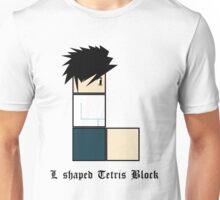 L shaped Tetris block Unisex T-Shirt