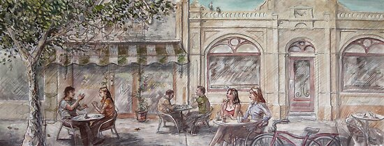 Cafe Scene by Coldtown