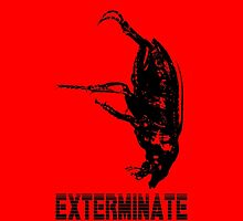Exterminate iPhone case by Margaret Bryant