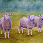 What's ewe looking at? by Fiona  Lee