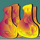Southwestern Jugs by IrisGelbart