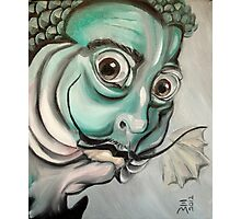 Salvador Dali (as a fish) Photographic Print